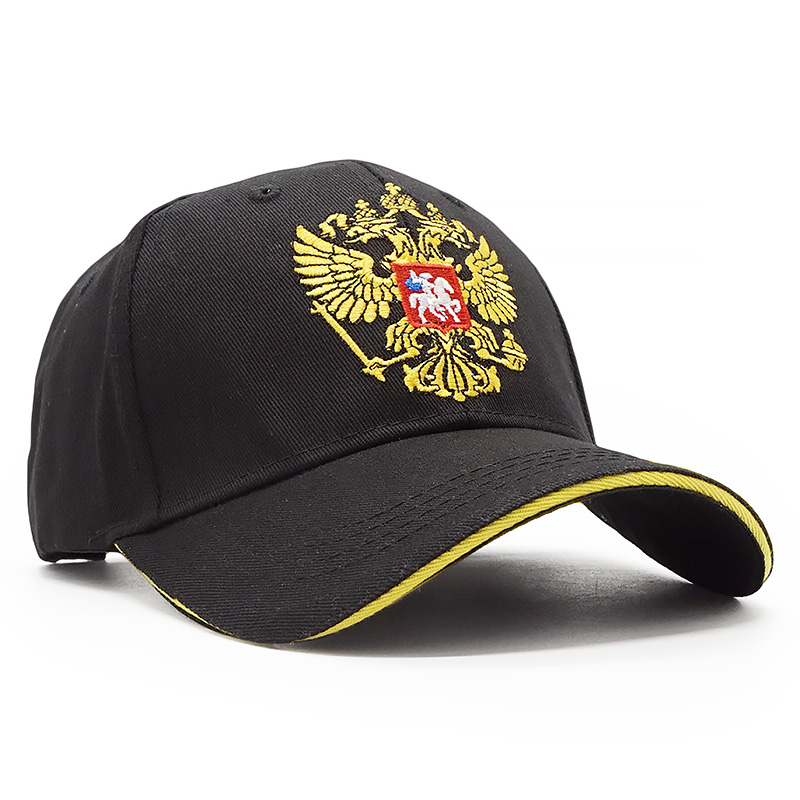 578e458abd7 100% Cotton Russia Baseball Cap Men Women Snapback Hat Brand Russian Emblem  Embroidery Dad Bone Outdoor Casual Casquette Caps-in Baseball Caps from  Apparel ...