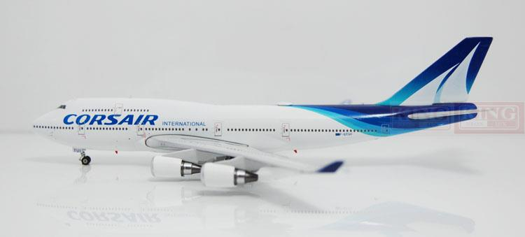 Phoenix 10892 B747-400 F-GTUI 1:400 Air France corse commercial jetliners plane model hobby phoenix 11037 b777 300er f oreu 1 400 aviation ostrava commercial jetliners plane model hobby