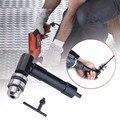Стальной сверлильный наконечник  алюминиевая дрель  90 градусов  прямоугольный патрон  адаптер для сверления 8 мм  шестигранный хвостовик  св...