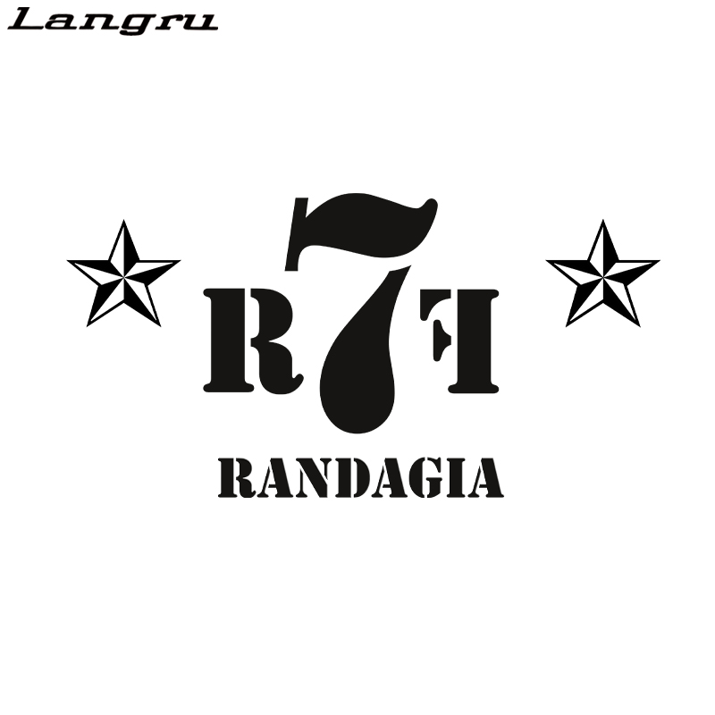 Langru Randagia Stars Personality Decoration Car Sticker Vinyl Decal Car Accessories Decor Jdm(China)