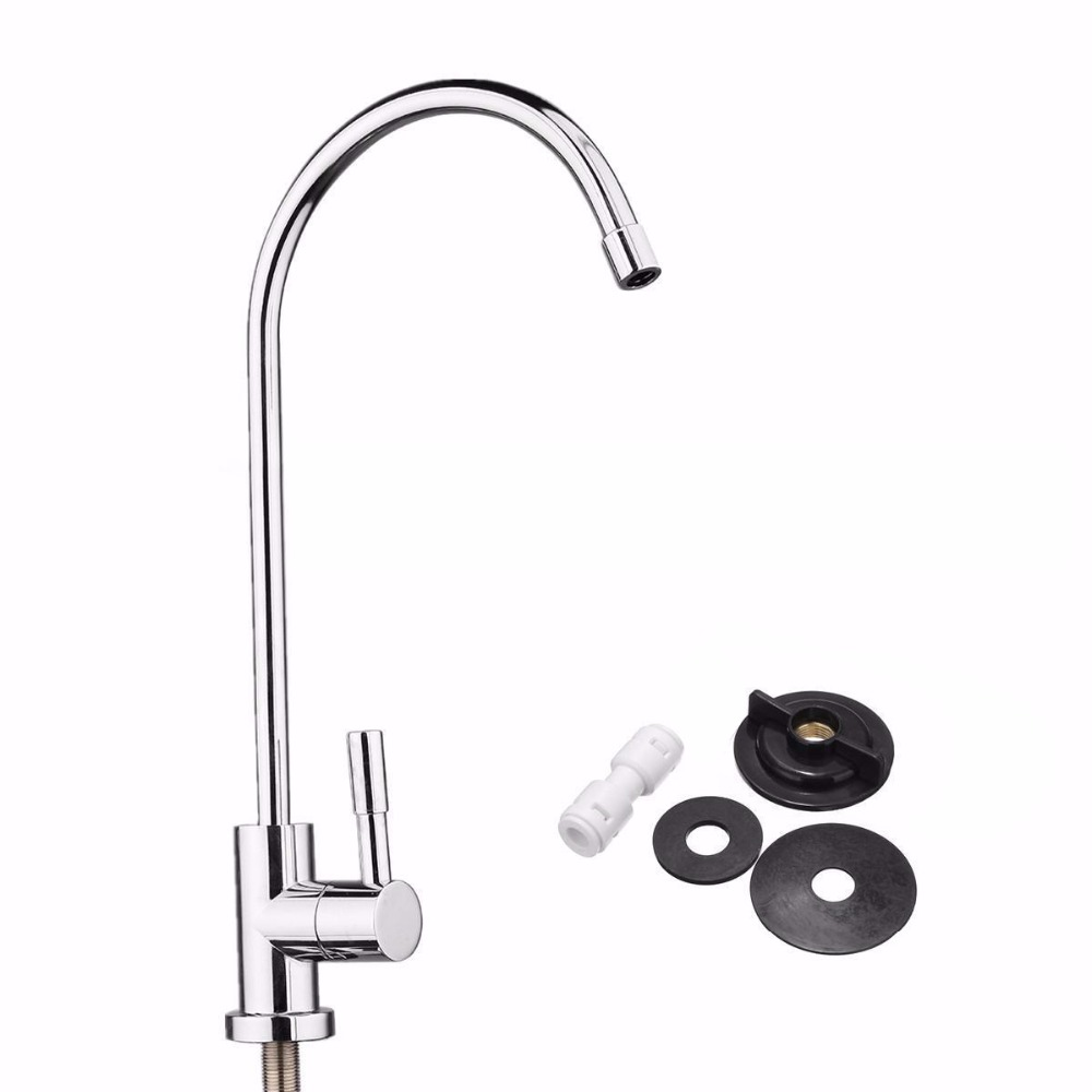 1pc 304 Stainless Steel Water Filter Faucet 1 4  360 Degree Chrome Osmosis  DrinkingOnline Get Cheap Stainless Steel 304 Drinking Faucet  Aliexpress  . Stainless Steel Water Filter Faucet. Home Design Ideas