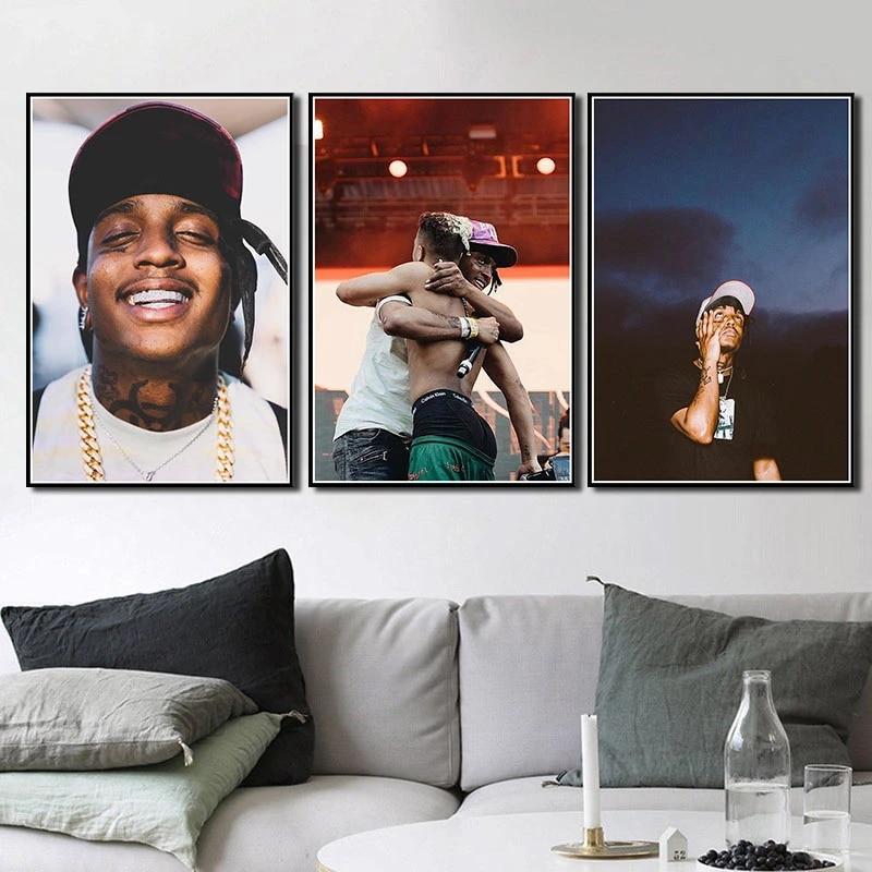 G685 Ski Mask The Slump God Rap Hip Hop Rapper Star Music Art Silk Poster