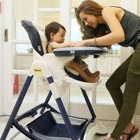 Многофункциональный стульчик для кормления складной стул для младенцев регулируемое сиденье переносное детское кресло шезлонги для новор