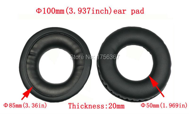 Zamjenske jastučići za uši za AKG K240 K241 K242 K270 K272 K272HD - Igre i pribor - Foto 2