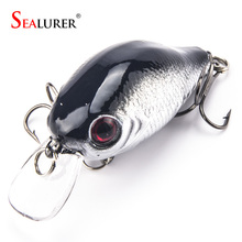 Brand Lifelike VIB Floating Fishing Lure 5.5CM 9G Pesca Hooks Fish Wobbler Tackle Crankbait Artificial Japan Hard Bait