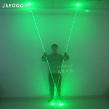 Free Shipping High Quality Laser Sword Large Stage Magic Show Illumination Props Halloween Fluorescent Foot Laser Show цена