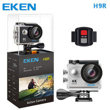 10 pcs original H9R action cameras with remote controller,10 UC28A mini projector, DHL shipping in one package(China)