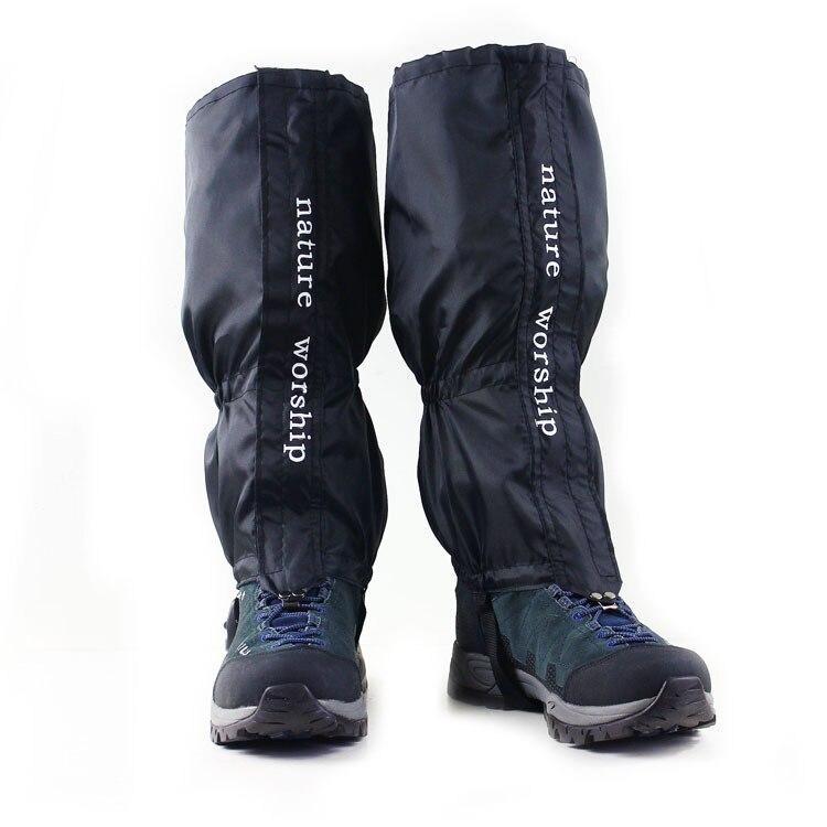 NEW 1 Pair Waterproof Outdoor Hiking Walking Climbing font b Hunting b font Snow Legging Gaiters