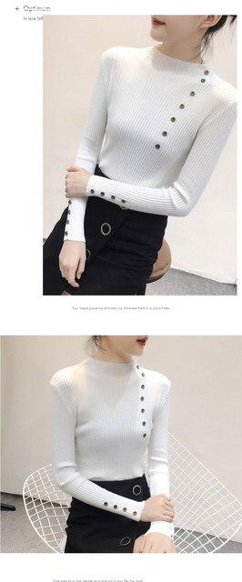 Women Sweater Turtleneck Sweaters Women Korean Fashion Woman Knitted Sweater Women Sweaters and Pullovers Winter Clothes Women 26