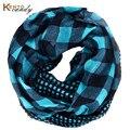 Mujeres de la manera bufanda a cuadros de gran tamaño bufandas impresas grandes y pequeños a cuadros bufanda viscosa chales y hijabs envío gratis