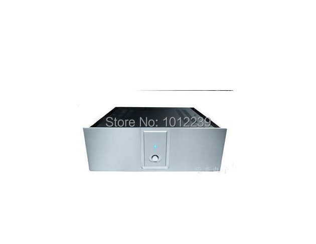 hot sale power amp chassis/A2001B  amplifier chassis with large heatsink size 390X380X140MM hot sale gold preamp aluminum chassis with knob diy home audio amp chassis size 236 w x 166 high x 75 deep