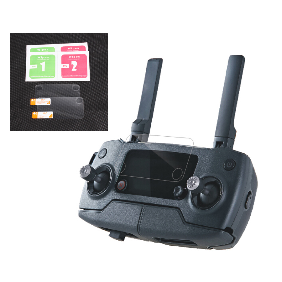 2pcs Remote Controller Screen Protective Film HD Pad for Mavic Pro