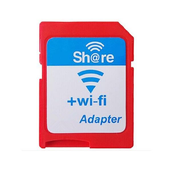 2016 Hot Venda Nova Chegada EZ Compartilhar Sem Fio TF TF Cartão de Leitor de Cartão de Memória Flash Adaptador WI-FI Leitor de Cartão Micro TF