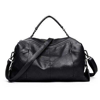 Leather Women Bags Designer Luxury Handbags Shoulder Bag Female Big Casual  Tote Spanish Brand Crossbody Bag Ladies Geometric Sac 6360f89b5739f