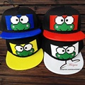 Fashion Cartoon Frog New Design DIY Brick Snapback Hats For Men Summer Mosaics Cool Hat for Women Detachable caps
