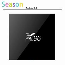 5pcsX96 1G 8G Amlogic S905X Android 6 0 Quad core font b Smart b font TV