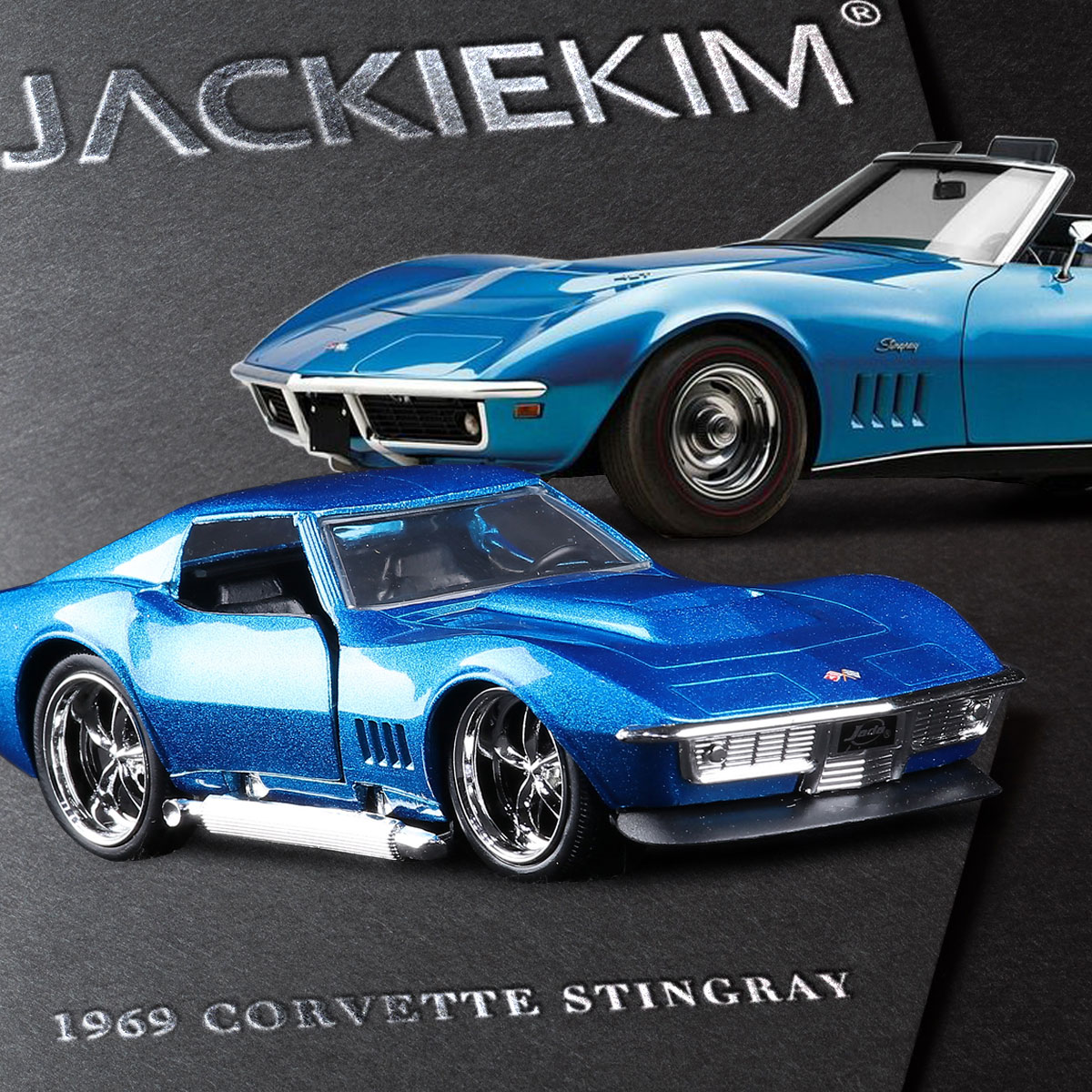 Jada 1 32 scale high simulation alloy model car chevrolet corvette stingray quality