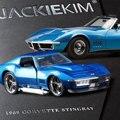 Jada escala 1:32 alta simulación de aleación modelo de coche, chevrolet corvette stingray, modelos de juguetes de calidad, envío libre
