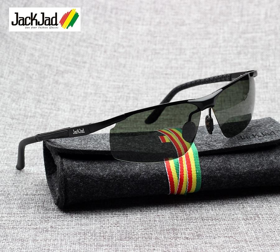 Image JackJad New Fashion JJ2237 Polarized Aviator Style Driving Sunglasses Vintage Classic G15 Brand Design Sun Glasses Oculos De Sol