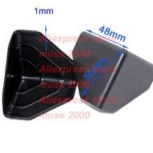 50mm ahşap mobilya köşe kapak koruyun 3 tarafı koruyucu Siyah PE PP mobilya masa kurulu plaka taşıma anti scratch