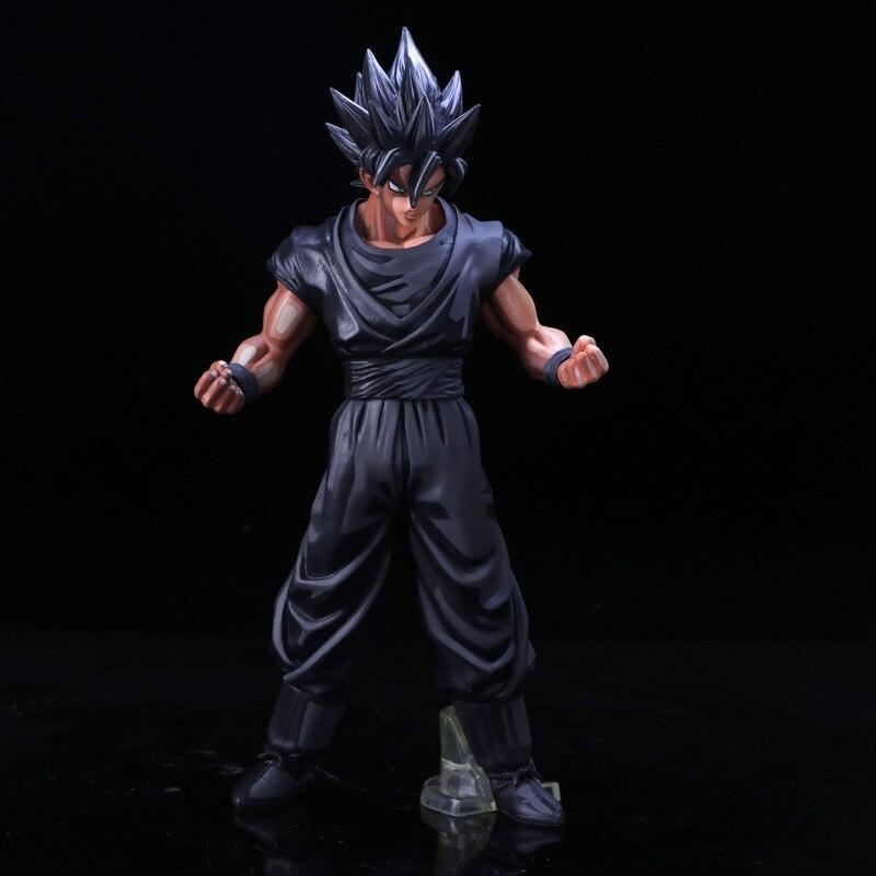 Dragon Ball Super Saiyan chocolat fils Goku Pvc activité figurine modèle jouet édition limitée affichage jouet cadeau d'anniversaire