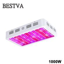 BestVA 1000 W Alto Rendimiento LLEVADO Crece La Luz de Espectro Completo Para plantas hidroponía Veg Fruta Flor de invernadero de interior crece la tienda lámparas