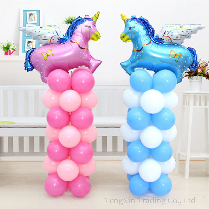 2set Balloon Column Stand Kits Stick Pole + Arch Frame Base for Wedding Birthday Festival Party Decorations