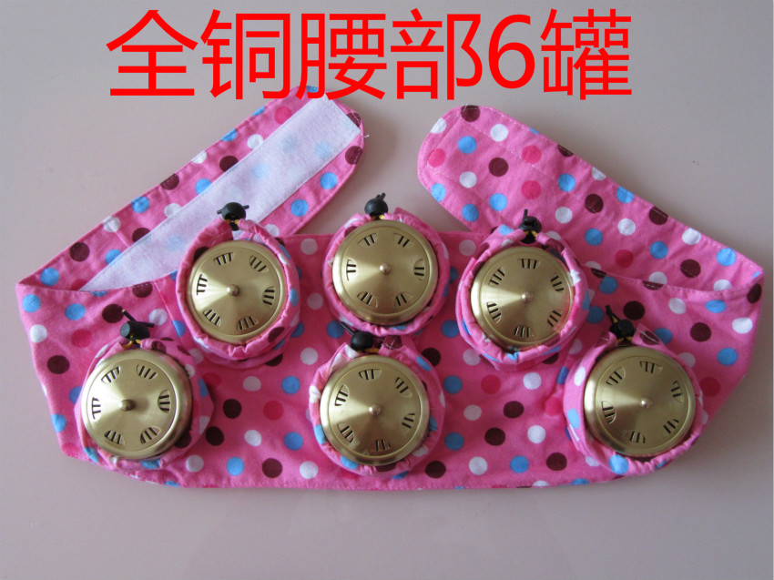 Copper moxibustion box querysystem cauterize 6 tank can thermostat utensils utensils moxibustion box moxa tank querysystem cauterize wormwood box