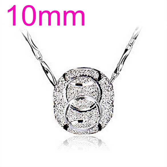 OMHXZJ Wholesale round woman man Grind arenaceous luck beads kpop star 925 sterling silver NO Chain Necklace pendant Charms PE06 in Charms from Jewelry Accessories