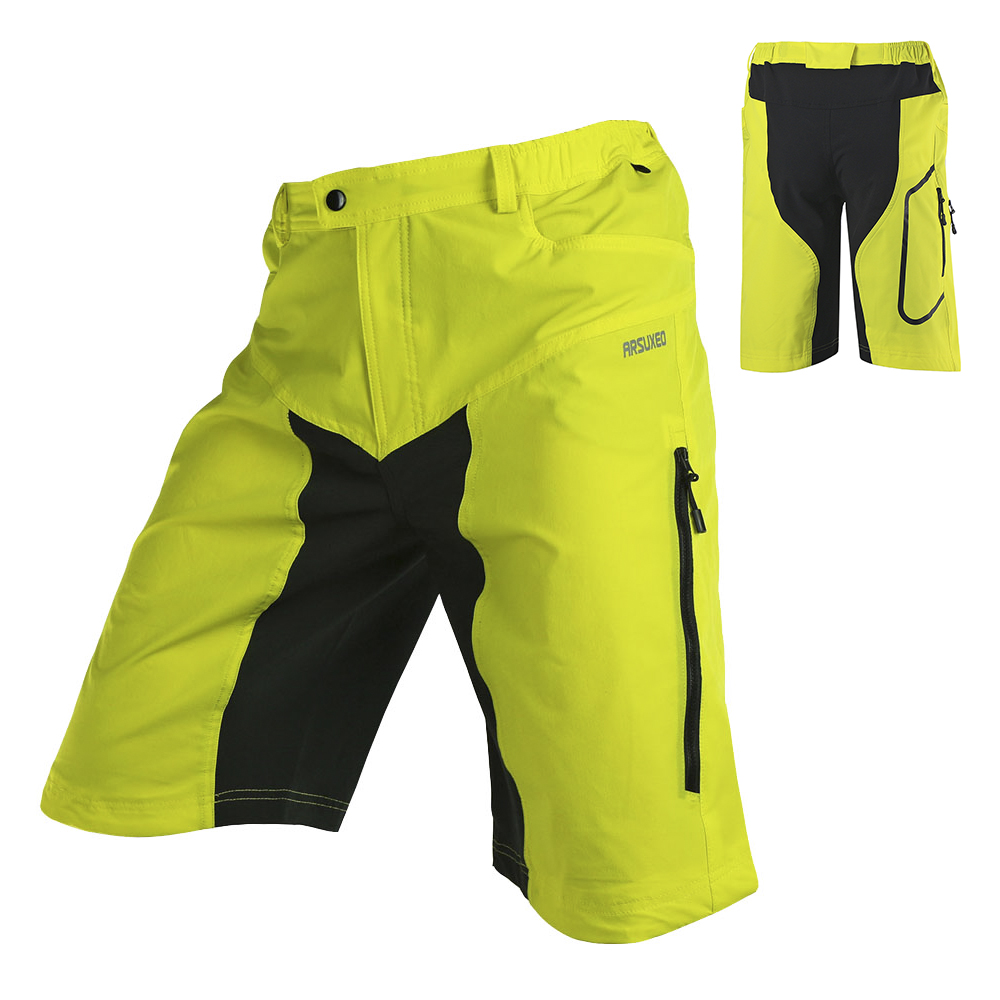 Lixada Wear-resistant Cycling Shorts Men Quick-dry MTB Shorts 2019 Breathable Mountain Bike Shorts For Bicycle