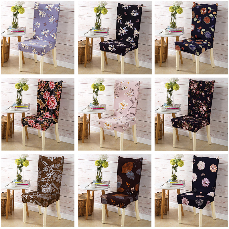 Slap-up Hotel Spandex Chair Cover Elastic Slipcovers Wedding Restaurant Kitchen Dining Stretch Chair Covers Decor High Quality