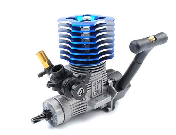 free shipping HSP 02060 BL VX 18 Engine 2.74cc Pull Starter blue for RC 1/10 Nitro Car Buggy EG630 двигатель super tigre 18 nitro купить