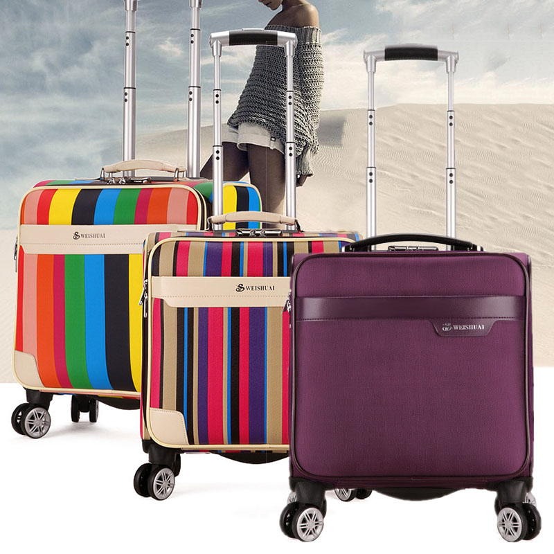 Popular Rainbow Luggage-Buy Cheap Rainbow Luggage lots from China ...