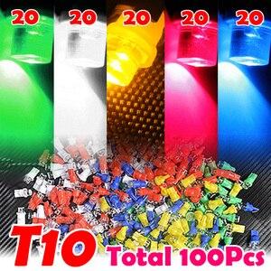 100PCS/LOT Multicolor T10 194