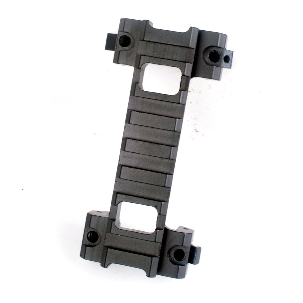 WIPSON 8 Slots 20mm Picatinny Weaver Scope Rail Mount Base Claw For MP5 GSG5 G3 Series Airsoft Hunting Mount With Wrench