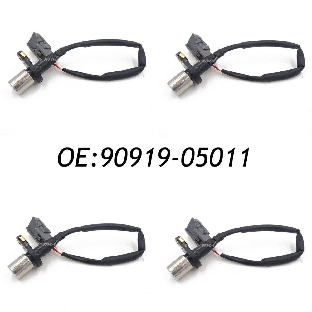 New 4pcs 90919-05011 Crank Crankshaft Position Sensor For Toyota Celica Corolla 1.6 1.8 9091905011 new 4pcs crank crankshaft