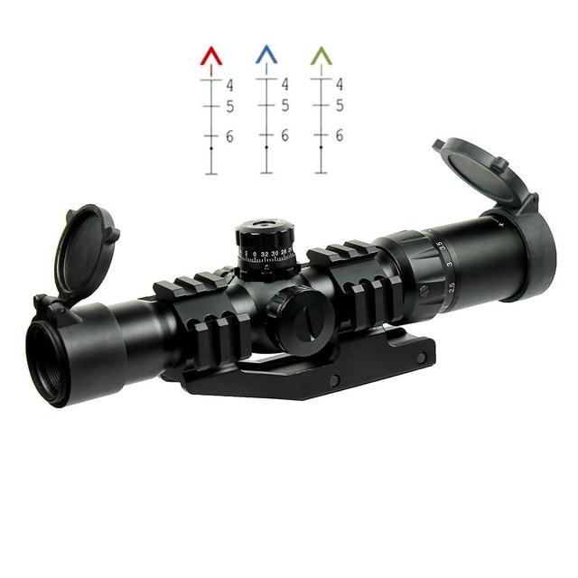 ღ Ƹ̵̡Ӝ̵̨̄Ʒ ღAl aire libre Caza aire suave 1.5-4x30 Tactical rifle ...
