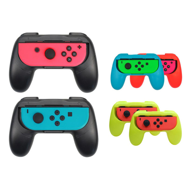 Left+Right Joycon Bracket Holder Handle Hand Grip Case for Nintend Switch NS Joy Con Controller Gamepad HandGrip Stand Support