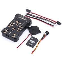 2.4.8 PX4 Autopilot PIX Pixhawk Controlador de Vôo com cartão SD Yaapu FrSky Telemetria Receptor de Cabo Conversor Para X4R RXSR R9MM