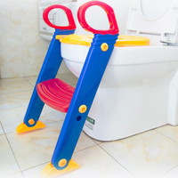Baby Pot Children Toilet Training Safety Seat Chair Step Adjustable Ladder Children's Potty Infant Folding Toilet For Newborns