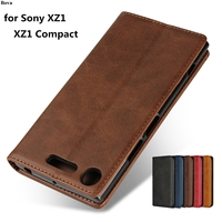 Skórzane etui do Sony Xperia XZ1/XZ1 Compact 4.6
