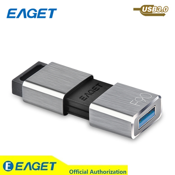 EAGET USB Flash Drive 64GB Waterproof Mini Pen Drive 16GB Memory Stick USB Flash Disk 32GB USB 3.0 Metal Pendrive 128GB For PC USB-флеш-накопитель