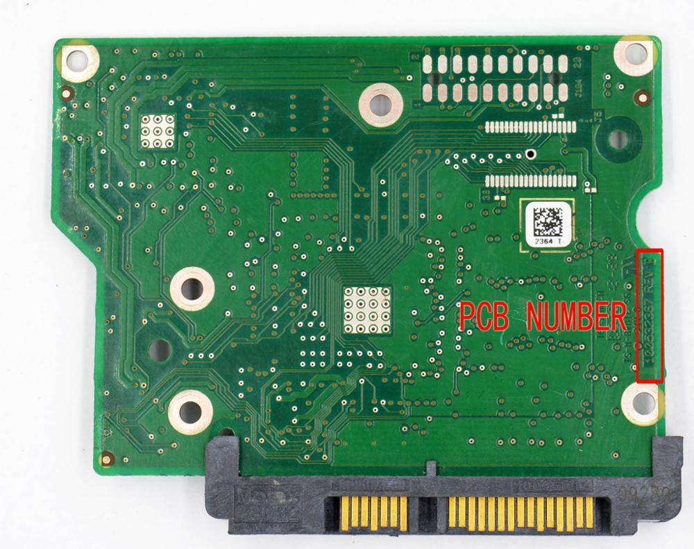 ᗔHDD PCB / Jia Yuan Sheng Logic Board / 100532367 REV A , 100532367