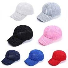 Ponytail Tennis cap Ladies Summer Streetwear HipHop Mesh Gauze Ponytail Cap (China) 37480254b18