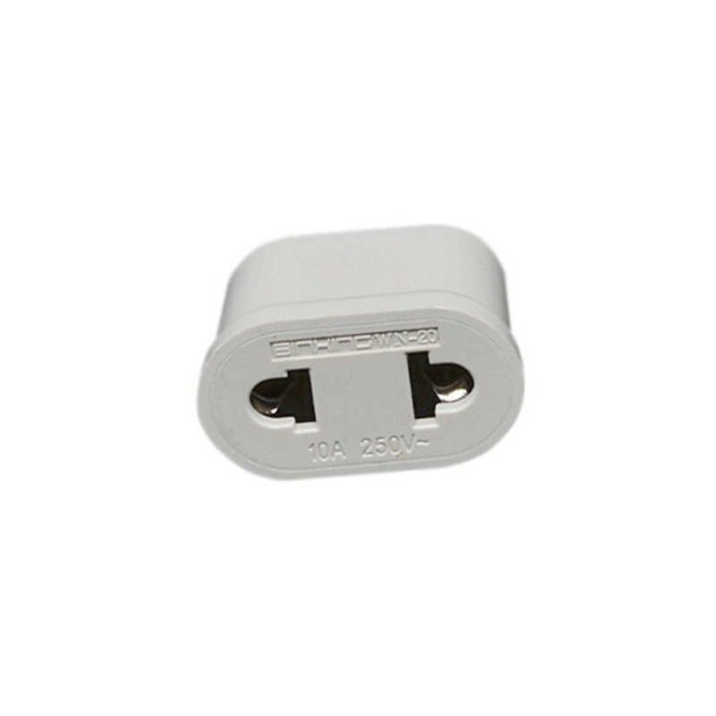 Zasilacz adaptery wtykowe ue zasilanie prądem zmiennym Adapter prąd podróżny przejściówka do gniazda ściennego przenośny trwały lekki wysokiej jakości