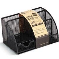 Deli 9200 multifunctional pen stand creative fashional pen holders office supplies pen pencil case storage box