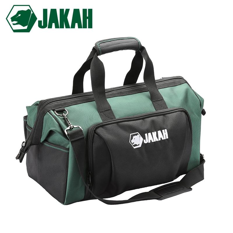 JAKAH 2018 New Tool Bags Waterproof Travel Bags Men Crossbody Bag Tool Storage Bags With Waterproof Base Free Shipping