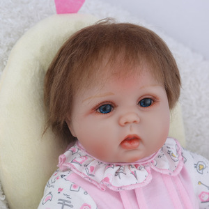 Image 5 - NPKDOLL Reborn Baby Doll 45CM Christmas Gift For Girls 17 Inch Baby Alive Soft Chicken Toys For Girls Lovely Bebe Reborn