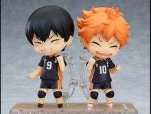 Haikyuu kageyama tobio Hinata Syouyou Nendoroid Figura Figuras de Acción PVC 10 CM Japonesa Anime Figuras de Voleibol Haikyuu