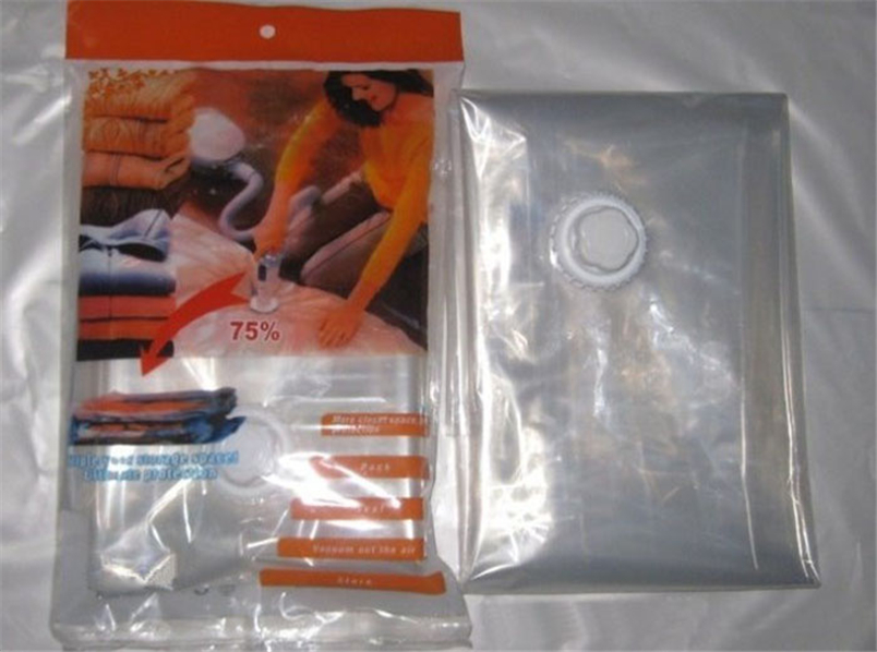 Ocardian vakum çanta giyim için 60 * 50 cm Yeni Space Saver - Evdeki Organizasyon ve Depolama - Fotoğraf 4